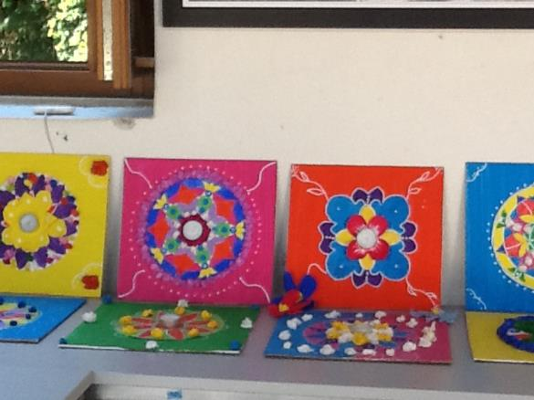 Floating Mandalas - Summer camp 2014